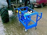 Каналопромывочный аппарат с приводом от ВОМ