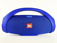 Колонка самая БОЛЬШАЯ JBL Boombox BIG. Блютуз колонка беспроводная + Подарки темно-синяя