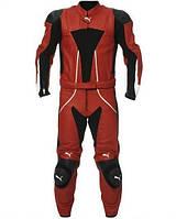 Кожаный раздельный мотокомбинезон Puma Sport Leather Suit 2PC