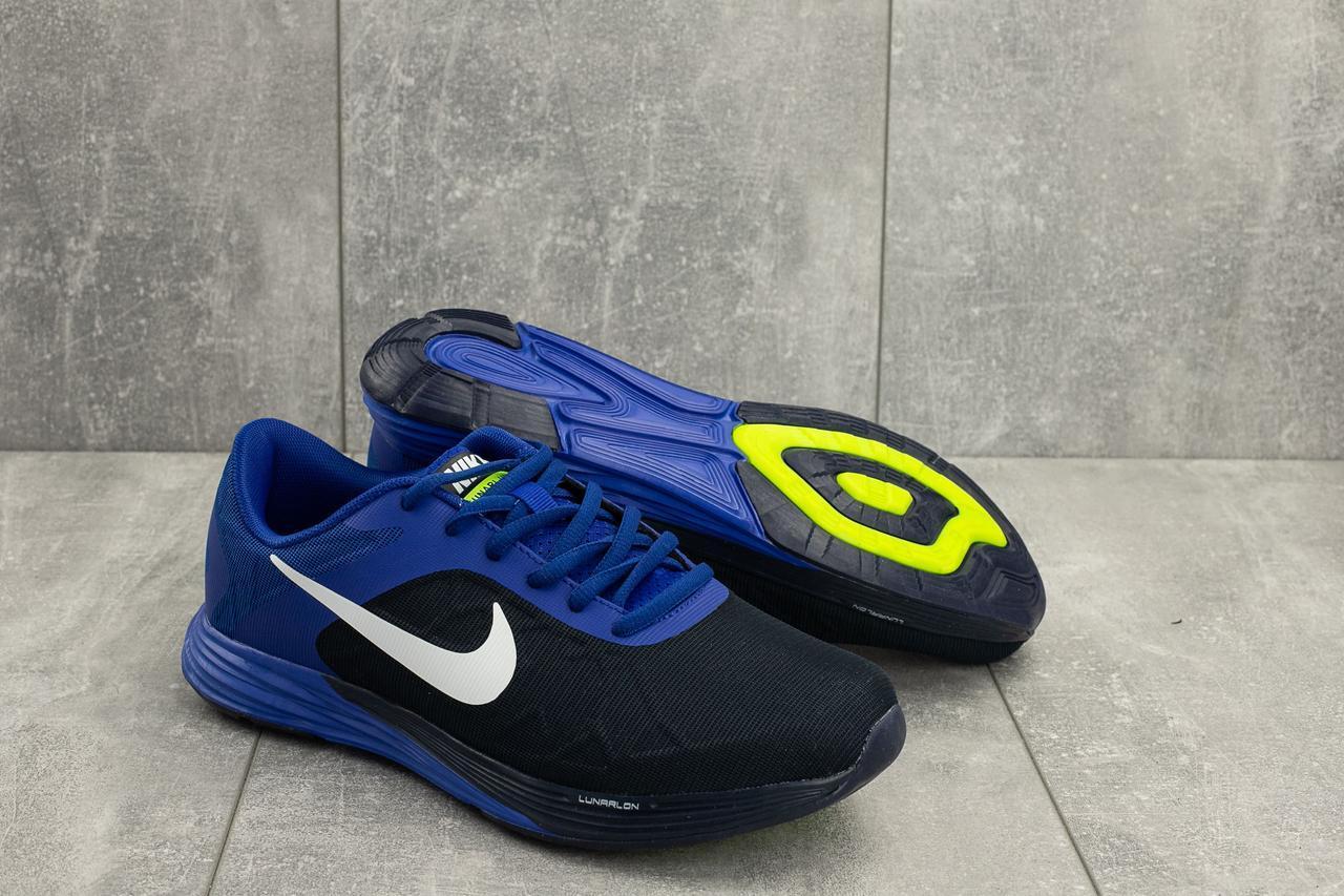 Кроссовки мужские летние A 404 -3 в стиле Nike синие