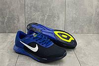 Кроссовки мужские летние A 404 -3 в стиле Nike синие, фото 1