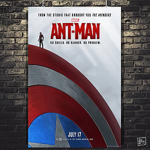 Постер Человек-муравей, Ant-Man, Марвел. Размер 60x41см (A2). Глянцевая бумага