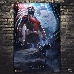 Постер Человек-муравей, Ant-Man, Марвел. Размер 60x39см (A2). Глянцевая бумага