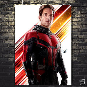 Постер Человек-муравей и Оса, Ant-Man and the Wasp, Марвел. Размер 60x42см (A2). Глянцевая бумага