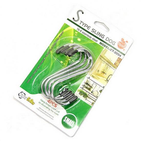 Вешалки - крючки для кухни 4 шт 11.5см