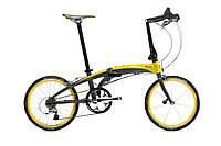 TERN Verge X30h складной велосипед черно-желтый, фото 1