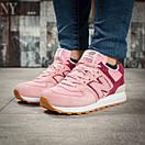 Кроссовки женские New Balance 574, розовые (15717) размеры в наличии ► [  37 38 39 40  ], фото 2