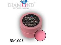 """Гель-краска для маникюра """"Розовый лепесток"""" BM-003"""