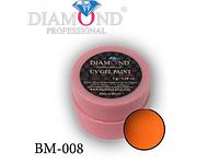 """Гель-краска для маникюра """"Рыжее настроение"""" BM-008"""