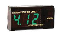 Тахометр-вольтметр дизельный Multitronics DМ-20D