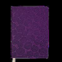 Ежедневник датированный 2019 Buromax Design FLEUR, вишневый, А6 (BM.2580-44)