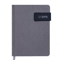 Ежедневник датированный 2019 Buromax Classic WINSDOR, серый, А6 (BM.2533-09)