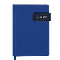 Ежедневник датированный 2019 Buromax Classic WINSDOR, синий, А6 (BM.2533-02)