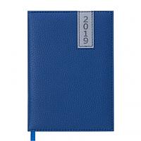 Ежедневник датированный 2019 Buromax Classic VERTICAL, синий, А6 (BM.2532-02)