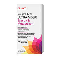 GNC Women's Ultra Mega Energy and Metabolism 180 caplets