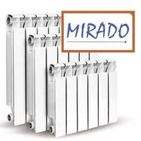 Алюминиевые радиаторы отопления Mirado 96х300 Одесса