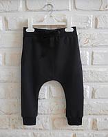 Штаны гаремы черные. Унисекс. Размер: 80 см