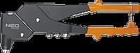 Заклепочник для заклепок стальных и алюминиевых 2.4, 3.2, 4.0, 4.8 мм 18-102 Neo