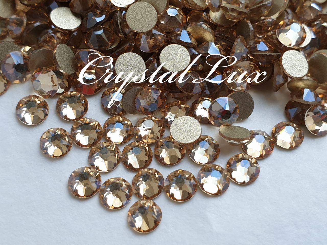 Стразы ss20 Gold Shaddow Xirius, NEW, 16 граней, 100шт. (5,0мм)