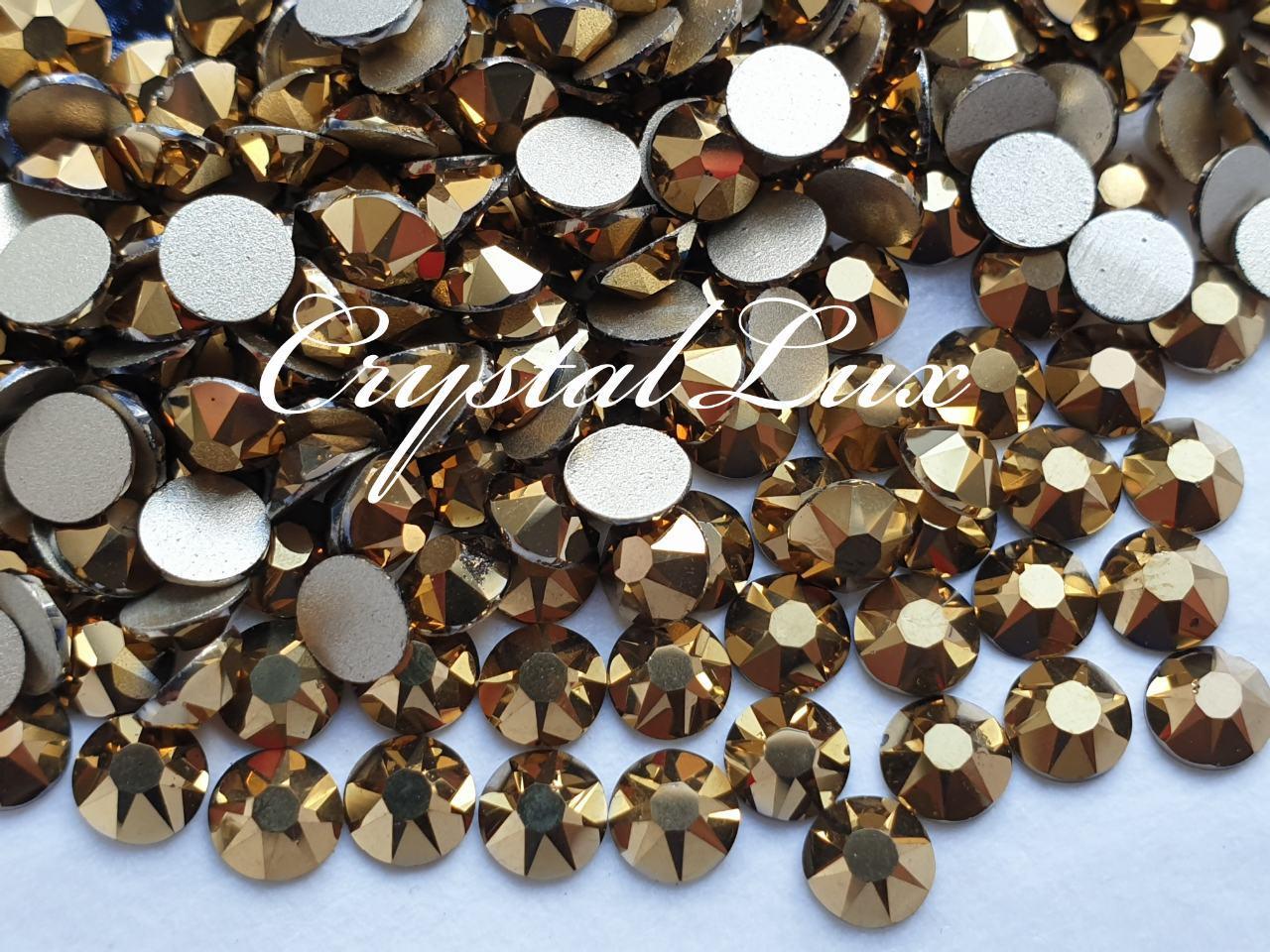 Стразы ss16 Mine Gold Xirius, NEW, 16 граней, 100шт. (4,0мм)