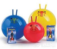 Мяч з рожками Junior Globetrotter LEDRAGOMMA , диам. 42 см, красный