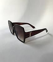 Солнцезащитные очки женские, брендовые Ив Сен-Лоран