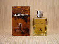 Etienne Aigner - Statement For Men (1994) - Туалетная вода 125 мл - Первый выпуск аромата 1994 года, фото 1