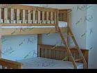 Кровать двухъярусная трансформер  «Жасмин» 1 Сорт, фото 3