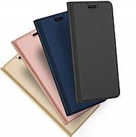 Кожаный - чехол книжка оригинал для Samsung Galaxy M20 (4 цвета)