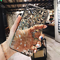 """Силиконовый чехол """"Crystal"""" для Samsung Galaxy M20 прозрачный"""