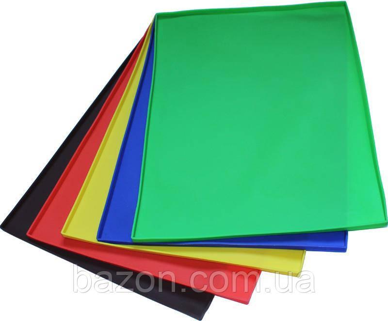 Силіконовий килимок для випічки 48х36см з бортиком 1см