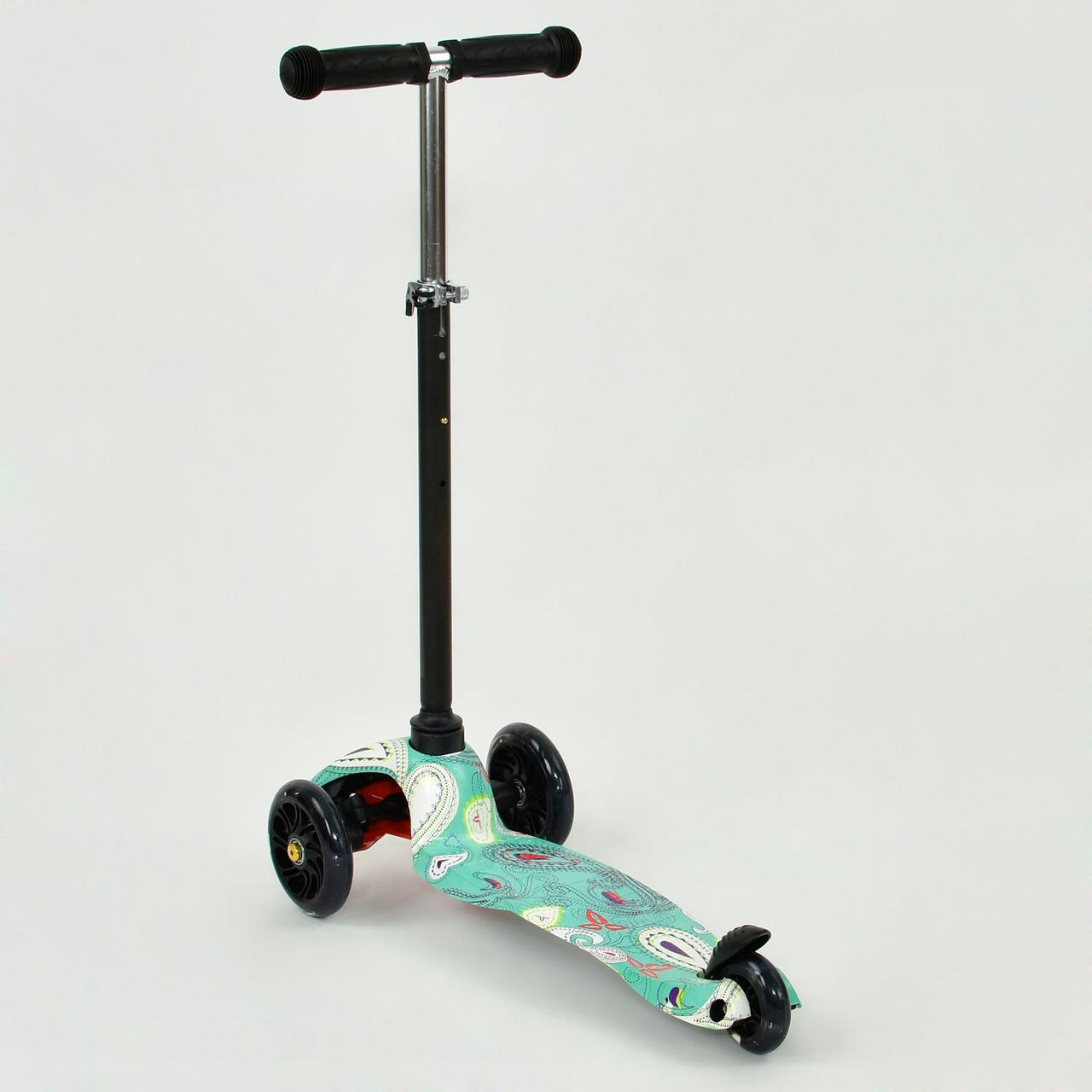 "Самокат детский трехколесный MINI ""Best Scooter"".Самокат светящиеся колеса"