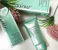 Пилинг- Скатка   для лица с зеленым чаем Shiseido , фото 1