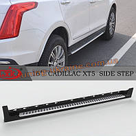 Боковые подножки оригинал на Cadillac XT5
