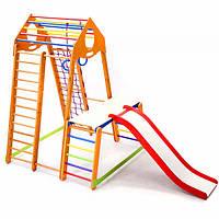 Детский спортивный комплекс BambinoWood Plus 1-1 (ТМ SportBaby)