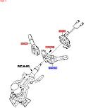 Переключатель света подрулевой, KIA Sportage 2010-15 SL, 934101m531, фото 4
