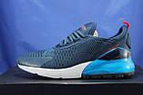 Чоловічі легкі кросівки сітка сині Ax Boxing, фото 3