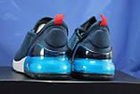 Чоловічі легкі кросівки сітка сині Ax Boxing, фото 2
