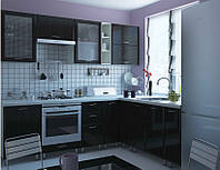 Кухня София Градо комплект 2м черный орех Сокме