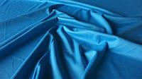 Одёжная ткань голубой французский трикотаж