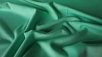 Одёжная ткань французский трикотаж салатового цвета