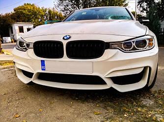 Передний бампер тюнинг обвес BMW F30 F31 стиль M3 без птф