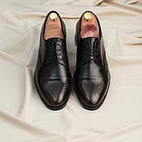 Туфли броги ІКОС 2249-5 черные