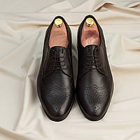 Туфли броги ІКОС 990-5 коричневые