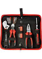 Набор инструментов, слесарно-монтажный, 22 предмета MTX 135619