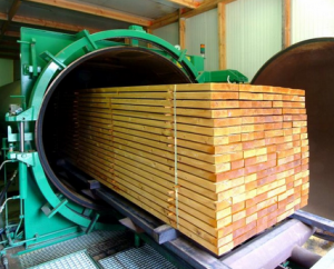 Импрегнация древесины контактирующей с грунтом