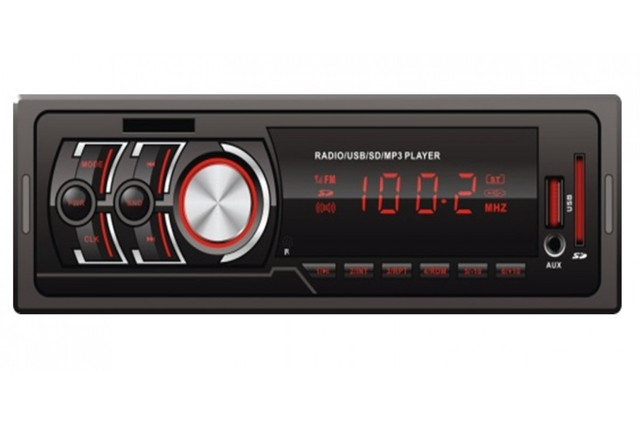Автомагнитола 1DIN MP3-602 Автомобильная магнитола ISO SD Cards USB