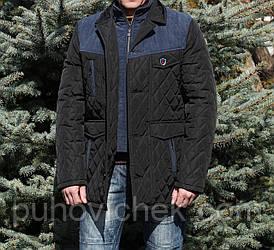 Стьобаний чоловіча курток подовжена весна осінь