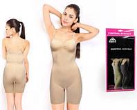 Корректирующие шорты с бретелями Sibote Control Bodysuit