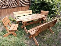 Импрегнация деревянной садово-парковой мебели, фото 1